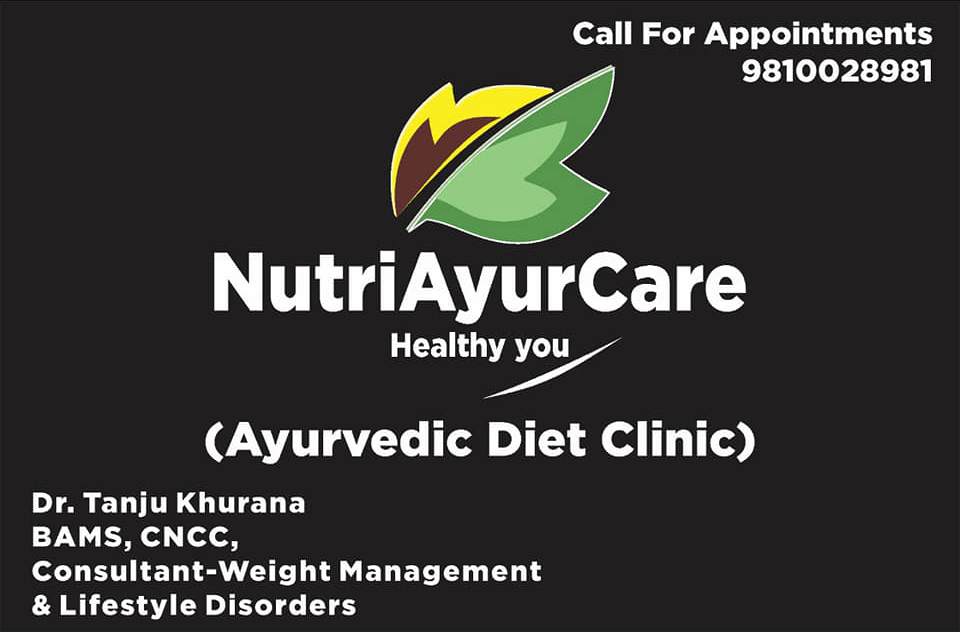 Best Nutrition and Diet Clinic Gurgaon - Nutriayurcare