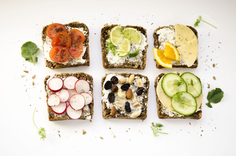Healthy Bone Diets - Cottage Cheese Sandwich